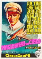The High and the Mighty - Italian Movie Poster (xs thumbnail)