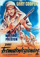 Beau Geste - German Movie Poster (xs thumbnail)