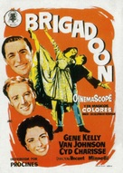 Brigadoon - Spanish Movie Poster (xs thumbnail)