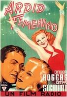 Vivacious Lady - Spanish Movie Poster (xs thumbnail)