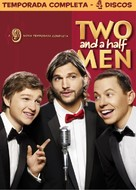 """""""Two and a Half Men"""" - Brazilian DVD movie cover (xs thumbnail)"""