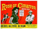 Rose of Cimarron - British Movie Poster (xs thumbnail)