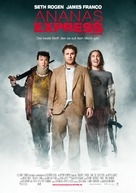 Pineapple Express - German Movie Poster (xs thumbnail)