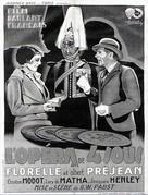 L'opéra de quat'sous - French Movie Poster (xs thumbnail)