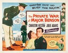 The Private War of Major Benson - Movie Poster (xs thumbnail)