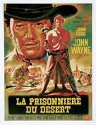 The Searchers - French Movie Poster (xs thumbnail)