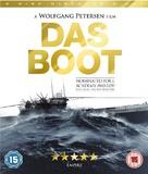 Das Boot - British Blu-Ray movie cover (xs thumbnail)