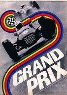Grand Prix - Czech Movie Poster (xs thumbnail)