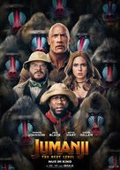 Jumanji: The Next Level - German Movie Poster (xs thumbnail)
