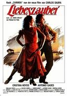 Amor brujo, El - German Movie Poster (xs thumbnail)
