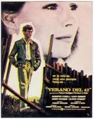 Summer of '42 - Spanish Movie Poster (xs thumbnail)