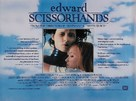 Edward Scissorhands - British Movie Poster (xs thumbnail)