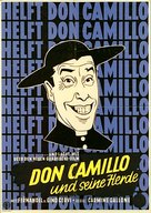 Don Camillo e l'onorevole Peppone - German Movie Poster (xs thumbnail)