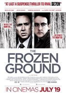 The Frozen Ground - British Movie Poster (xs thumbnail)