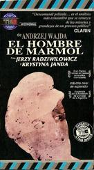 Czlowiek z marmuru - Argentinian Movie Cover (xs thumbnail)