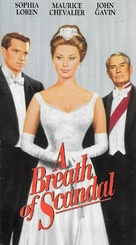 A Breath of Scandal - VHS movie cover (xs thumbnail)