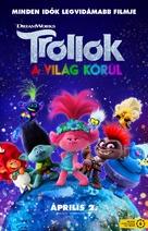 Trolls World Tour - Hungarian Movie Poster (xs thumbnail)