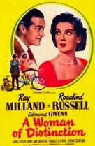 A Woman of Distinction - Movie Poster (xs thumbnail)