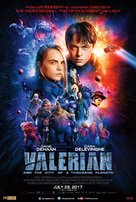 Valerian and the City of a Thousand Planets - Indian Movie Poster (xs thumbnail)