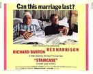 Staircase - British Movie Poster (xs thumbnail)