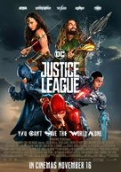 Justice League - Lebanese Movie Poster (xs thumbnail)