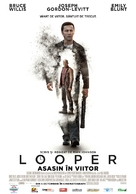 Looper - Romanian Movie Poster (xs thumbnail)