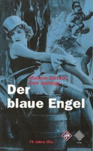 Der blaue Engel - German VHS cover (xs thumbnail)