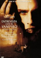 Interview With The Vampire - Spanish DVD movie cover (xs thumbnail)