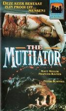 The Mutilator - Dutch Movie Cover (xs thumbnail)