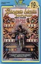 Pinball Summer - Swedish VHS cover (xs thumbnail)