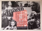 Dressed to Kill - British Movie Poster (xs thumbnail)
