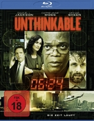 Unthinkable - German Blu-Ray cover (xs thumbnail)