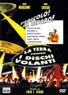 Earth vs. the Flying Saucers - Italian Movie Cover (xs thumbnail)