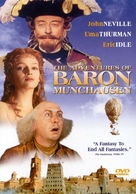 The Adventures of Baron Munchausen - DVD movie cover (xs thumbnail)