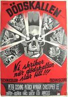 The Skull - Swedish Movie Poster (xs thumbnail)