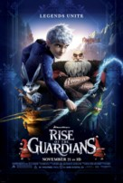 Rise of the Guardians - Theatrical movie poster (xs thumbnail)