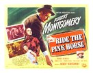 Ride the Pink Horse - Movie Poster (xs thumbnail)