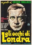 Die toten Augen von London - Italian Movie Poster (xs thumbnail)