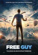Free Guy - Finnish Movie Poster (xs thumbnail)