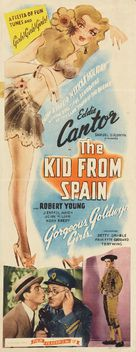 The Kid from Spain - Re-release poster (xs thumbnail)