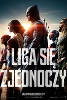 Justice League - Polish Movie Poster (xs thumbnail)