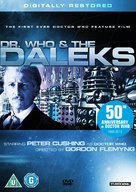 Dr. Who and the Daleks - British DVD cover (xs thumbnail)
