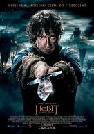 The Hobbit: The Battle of the Five Armies - Czech Movie Poster (xs thumbnail)