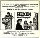 Hexen bis aufs Blut gequält - German poster (xs thumbnail)