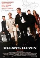 Ocean's Eleven - Spanish Movie Poster (xs thumbnail)