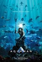 Aquaman - Danish Movie Poster (xs thumbnail)