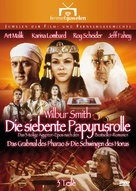 """""""The Seventh Scroll"""" - German DVD movie cover (xs thumbnail)"""