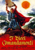 The Ten Commandments - Italian Movie Poster (xs thumbnail)