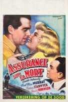 Double Indemnity - Belgian Movie Poster (xs thumbnail)