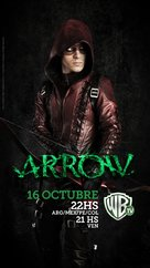 """Arrow"" - Chilean Movie Poster (xs thumbnail)"